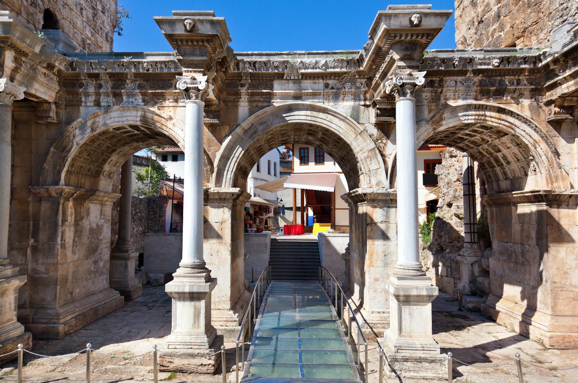 Antalya, oplevelser i Antalya, blog om Alanya, blog om Antalya, Hadrians port,