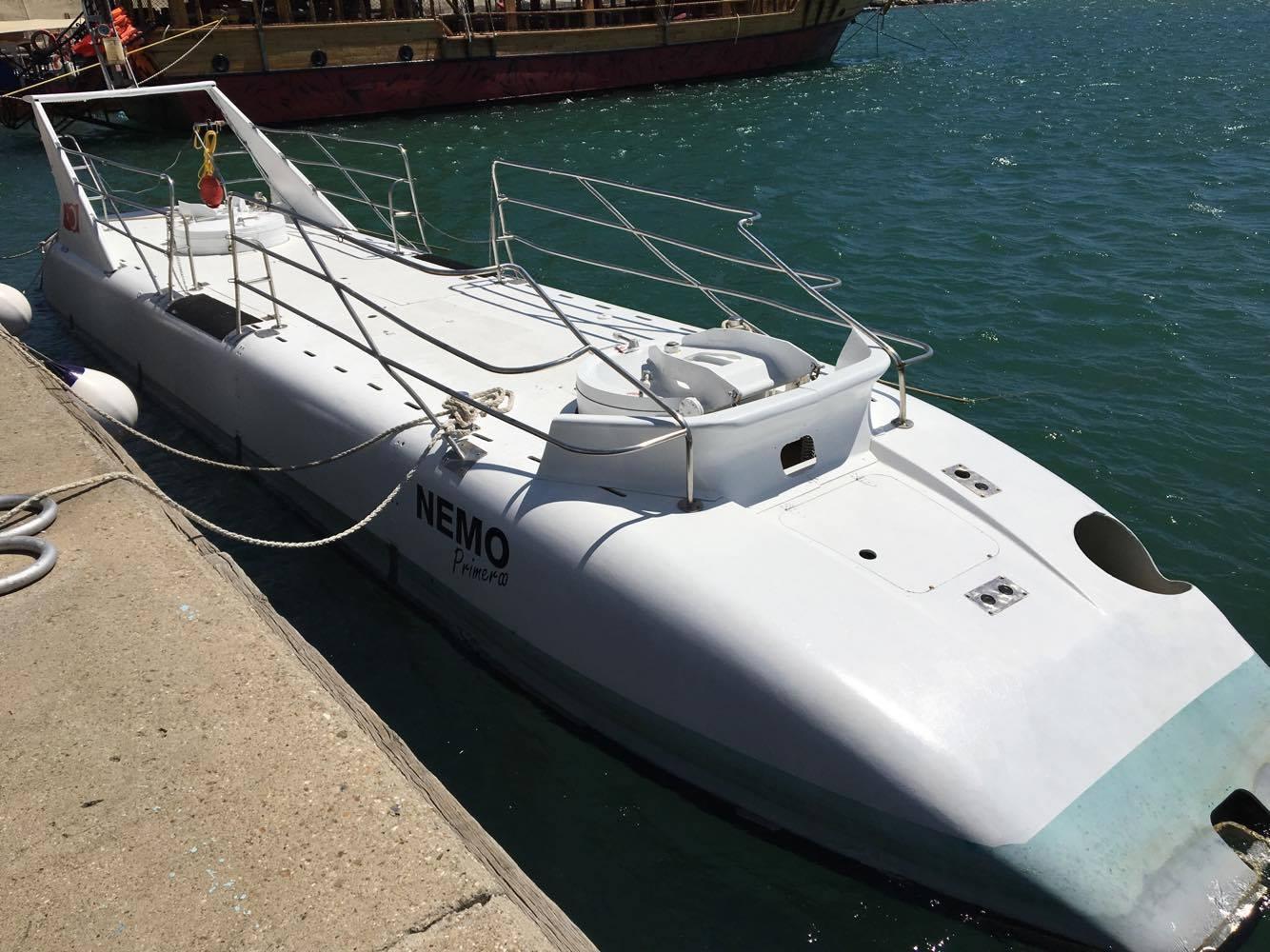 Ubåden i Alanya