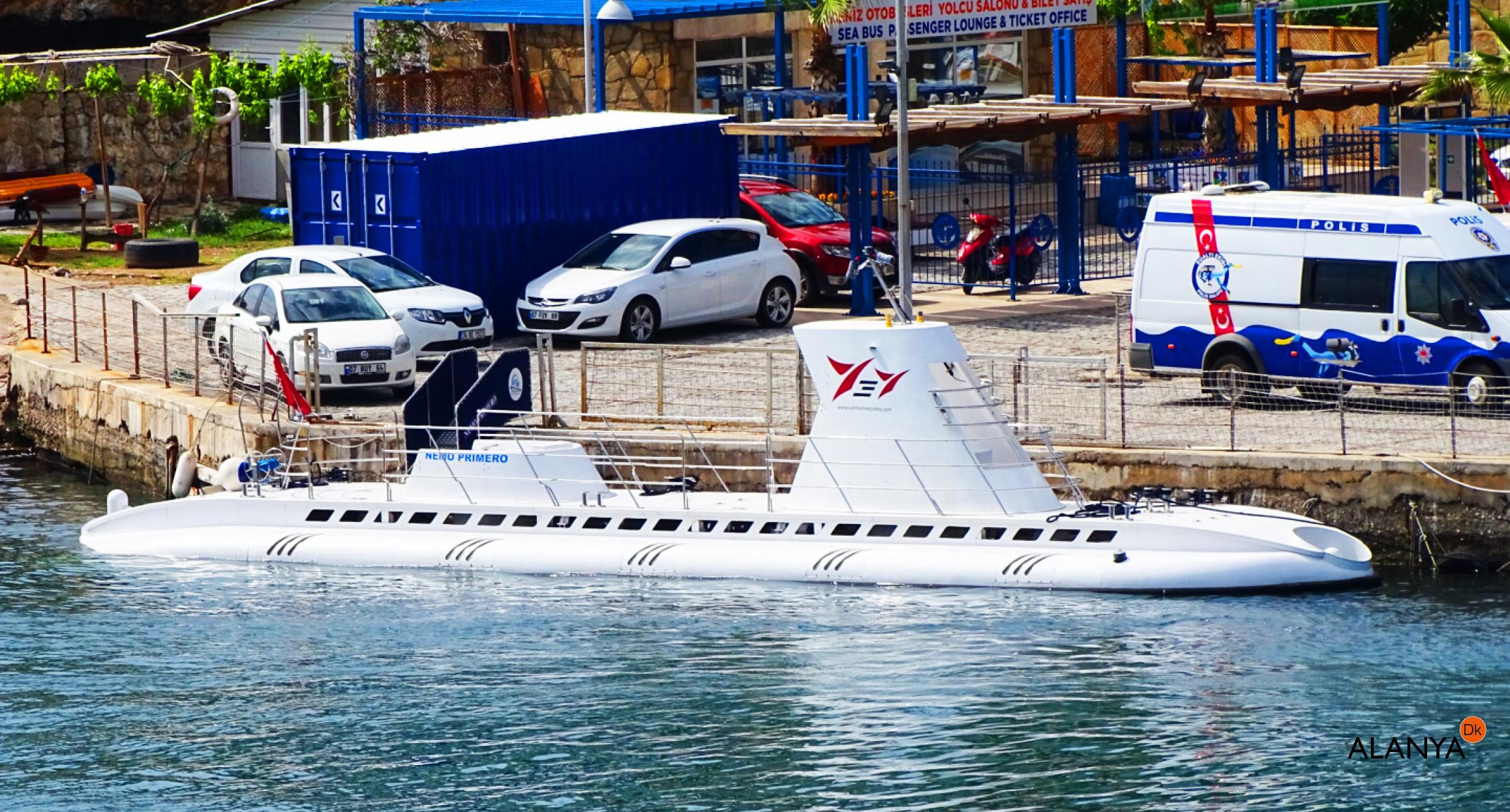 Ubåden i Antalya