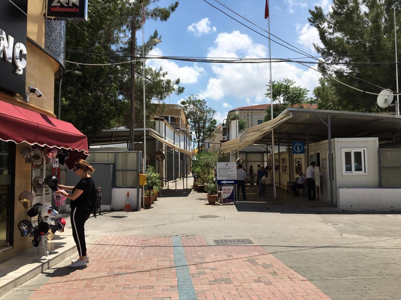cypern, nordcypern, green line, grænsen mellem tyrkiet og grækenland, blog om cypern,